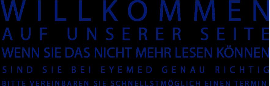 eyemed Berlin - Willkommen auf unserer Seite